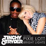 Download Tinchy Stryder 'Bright Lights (feat. Pixie Lott)' Printable PDF 7-page score for R & B / arranged Piano, Vocal & Guitar (Right-Hand Melody) SKU: 113930.