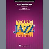 Download or print Toby Fox Megalovania (arr. Paul Murtha) - Alto Sax 1 Sheet Music Printable PDF 2-page score for Jazz / arranged Jazz Ensemble SKU: 420050.