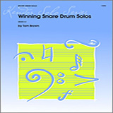 Download or print Tom Brown Winning Snare Drum Solos Sheet Music Printable PDF 16-page score for Classical / arranged Percussion Solo SKU: 124885.