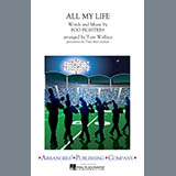 Download Tom Wallace 'All My Life - Quint-Toms' Printable PDF 1-page score for Alternative / arranged Marching Band SKU: 327631.