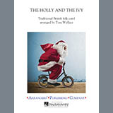 Download Tom Wallace 'The Holly and the Ivy - String Bass' Printable PDF 2-page score for Christmas / arranged Concert Band SKU: 343803.