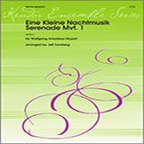 Download or print Tomberg Eine Kleine Nachtmusik/Serenade (Mvt. 1) - 2nd Bb Trumpet Sheet Music Printable PDF 2-page score for Classical / arranged Brass Ensemble SKU: 322250.