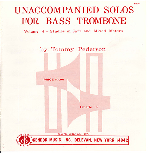 Easily Download Tommy Pederson Printable PDF piano music notes, guitar tabs for Brass Solo. Transpose or transcribe this score in no time - Learn how to play song progression.