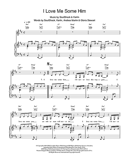 Toni Braxton I Love Me Some Him sheet music notes and chords. Download Printable PDF.