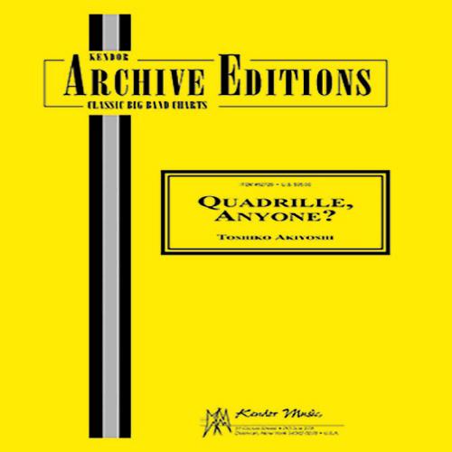 Toshiko Akiyoshi, Quadrille, Anyone? - Full Score, Jazz Ensemble