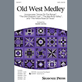 Download or print Traditional Old West Medley (arr. Mark Hayes) Sheet Music Printable PDF 23-page score for Concert / arranged TTB Choir SKU: 435168.