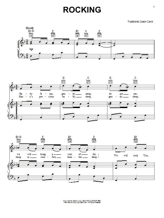 Christmas Carol Little Jesus (Rocking Carol) sheet music notes and chords. Download Printable PDF.
