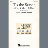 Download or print Traditional Carol 'Tis The Season (Deck The Halls) (arr. Michael John Trotta) Sheet Music Printable PDF 10-page score for Christmas / arranged 2-Part Choir SKU: 407518.