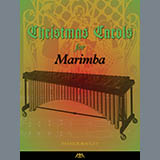 Download or print Traditional French Carol Angels We Have Heard on High (arr. Patrick Roulet) Sheet Music Printable PDF 2-page score for Christmas / arranged Marimba Solo SKU: 441557.
