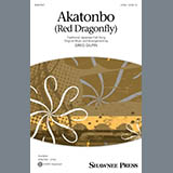 Download or print Traditional Japanese Folk Song Akatonbo (Red Dragonfly) (arr. Greg Gilpin) Sheet Music Printable PDF 6-page score for Japanese / arranged 2-Part Choir SKU: 484467.