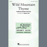 Download or print Traditional Scottish Folk Song Wild Mountain Thyme (arr. Andrew Parr) Sheet Music Printable PDF 14-page score for Concert / arranged 3-Part Mixed Choir SKU: 407530.