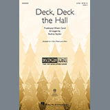 Download or print Traditional Welsh Carol Deck, Deck The Hall (arr. Audrey Snyder) Sheet Music Printable PDF 10-page score for Christmas / arranged 2-Part Choir SKU: 430650.