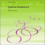 Download or print Uber Festival Fanfare #3 - 3rd Bb Trumpet Sheet Music Printable PDF 2-page score for Classical / arranged Brass Ensemble SKU: 322151.