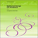 Download or print Uber National Songs Of America - 3rd Trombone Sheet Music Printable PDF 3-page score for Patriotic / arranged Brass Ensemble SKU: 322282.
