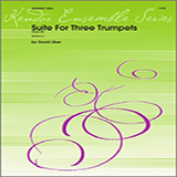 Download or print Uber Suite For Three Trumpets (Opus 28) - 1st Bb Trumpet Sheet Music Printable PDF 3-page score for Jazz / arranged Brass Ensemble SKU: 322145.