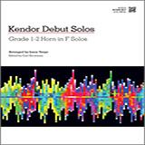 Download Varga 'Kendor Debut Solos - Horn in F' Printable PDF 14-page score for Instructional / arranged Brass Solo SKU: 124997.