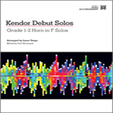 Download Varga 'Kendor Debut Solos - Horn in F - Piano Accompaniment' Printable PDF 40-page score for Instructional / arranged Brass Solo SKU: 124998.