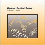 Download Various 'Kendor Recital Solos - Tenor Saxophone (Piano Accompaniment Book Only)' Printable PDF 34-page score for Concert / arranged Woodwind Solo SKU: 124920.
