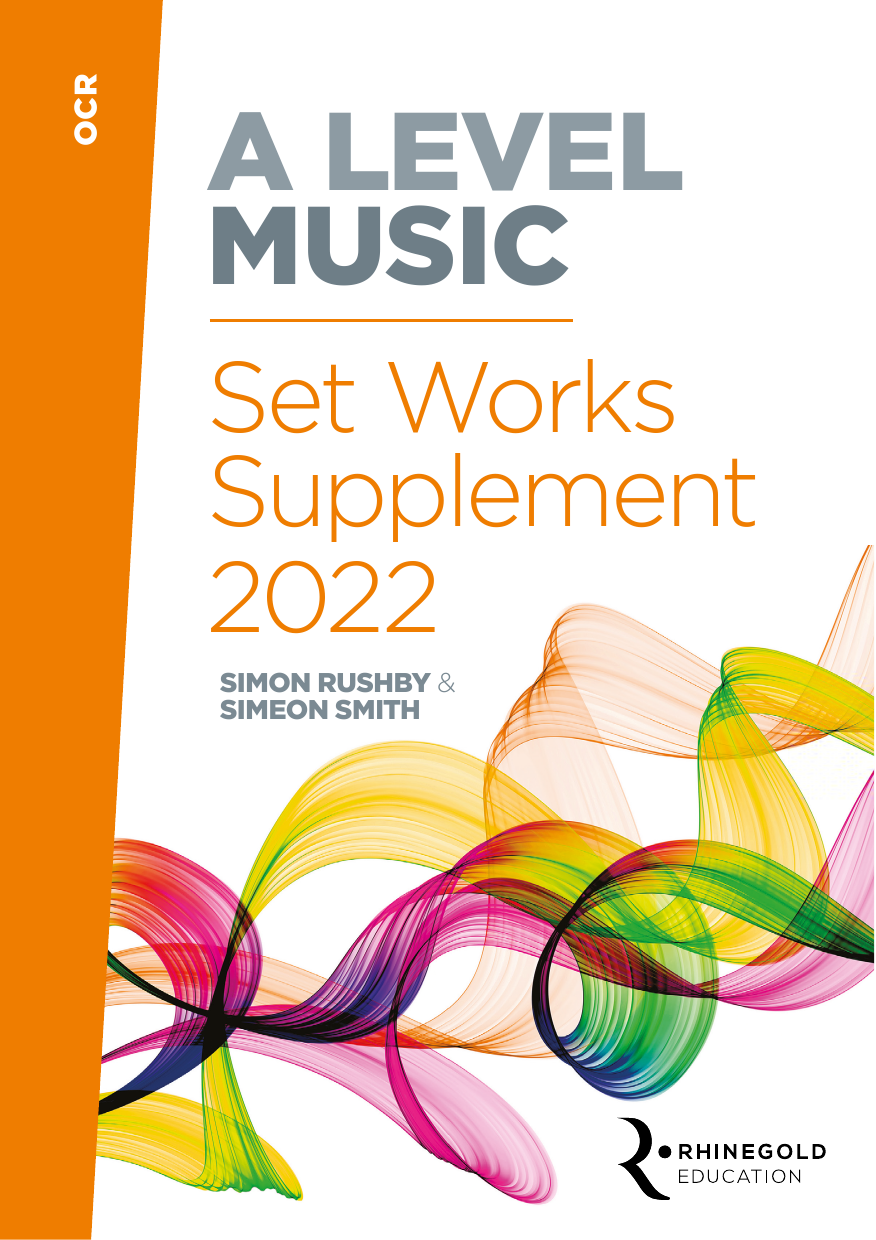 Various OCR A Level Set Works Supplement 2022 sheet music notes and chords. Download Printable PDF.
