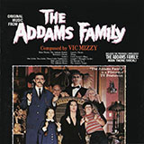 Download or print Vic Mizzy Addams Family Theme Sheet Music Printable PDF 2-page score for Halloween / arranged Easy Guitar Tab SKU: 448064.