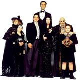 Download or print Vic Mizzy The Addams Family Theme Sheet Music Printable PDF 2-page score for Children / arranged Big Note Piano SKU: 428452.