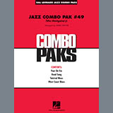 Download Wes Montgomery 'Jazz Combo Pak #49 (Wes Montgomery) (arr. Mark Taylor) - Piano/Conductor' Printable PDF 8-page score for Jazz / arranged Jazz Ensemble SKU: 429645.