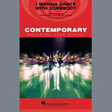 Download or print Whitney Houston I Wanna Dance with Somebody (arr. Conaway and Holt) - Aux Percussion Sheet Music Printable PDF 1-page score for Pop / arranged Marching Band SKU: 448760.