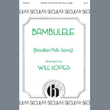 Download or print Will Lopes Bambulele Sheet Music Printable PDF 7-page score for Concert / arranged Choir SKU: 199504.