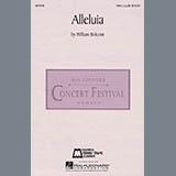 Download William Bolcom 'Alleluia' Printable PDF 2-page score for Contemporary / arranged SATB Choir SKU: 65519.