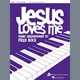 Download or print William Bradbury and Claude Debussy Jesus Loves Me (with Clair de Lune) (arr. Fred Bock) Sheet Music Printable PDF 3-page score for Inspirational / arranged Piano Solo SKU: 430849.