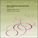 Download Wolfgang Amadeus Mozart 'Eine Kleine Nachtmusik (Movement 1 - Allegro) (arr. Frank J. Halferty) - 2nd Bb Clarinet' Printable PDF 3-page score for Classical / arranged Woodwind Ensemble SKU: 412104.