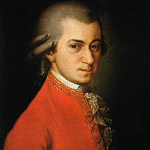 Wolfgang Amadeus Mozart, Slow Movement Theme from Violin & Piano Sonata in C, K296, Piano Solo