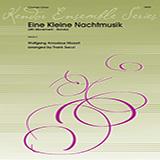 Download Wolfgang Mozart 'Eine Kleine Nachtmusik/Rondo (Mvt. 4) (arr. Frank Sacci) - 2nd Bb Clarinet' Printable PDF 3-page score for Classical / arranged Woodwind Ensemble SKU: 405128.