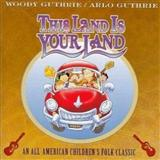 Download or print Woody & Arlo Guthrie This Land Is Your Land Sheet Music Printable PDF 2-page score for Folk / arranged Big Note Piano SKU: 150779.