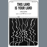Download or print Woody Guthrie This Land Is Your Land (arr. Aden G. Lewis and Jack E. Platt) Sheet Music Printable PDF 7-page score for Patriotic / arranged TTBB Choir SKU: 450086.