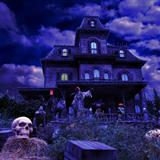 Download or print Buddy Baker Grim Grinning Ghosts (from Phantom Manor, Disneyland Resort Paris) Sheet Music Printable PDF 12-page score for Christmas / arranged Piano Solo SKU: 24841.