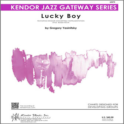 Easily Download Yasinitsky Printable PDF piano music notes, guitar tabs for Jazz Ensemble. Transpose or transcribe this score in no time - Learn how to play song progression.