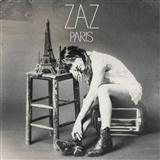 Download or print Zaz Paris, L'après-Midi Sheet Music Printable PDF 6-page score for Jazz / arranged Piano, Vocal & Guitar (Right-Hand Melody) SKU: 121020.