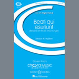 Download or print Zebulon Highben Beati Qui Esuriunt (Blessed Are Those Who Hunger) Sheet Music Printable PDF 10-page score for Concert / arranged SSA Choir SKU: 253654.