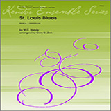 Download or print Ziek St. Louis Blues - Trumpet 2 Sheet Music Printable PDF 2-page score for Classical / arranged Brass Ensemble SKU: 313886.